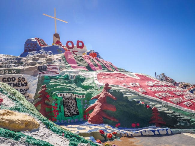 REPENT!! at Salvation Mountain
