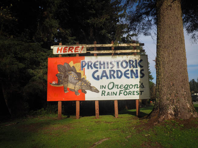 Prehistoric Gardens in Oregon's Rainforest