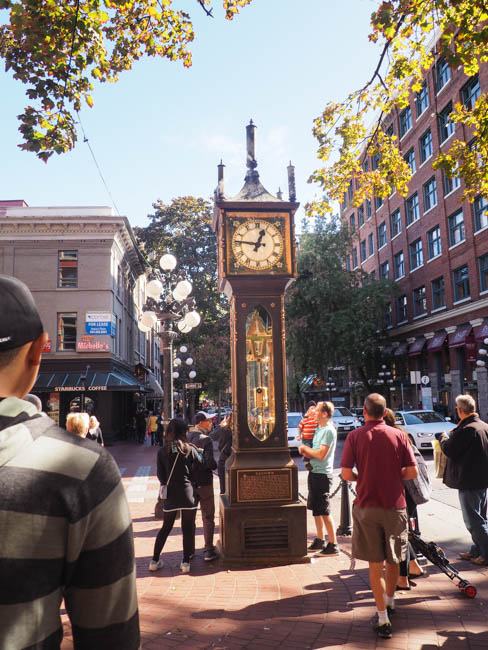 Spotted on the Roadside: The Gastown Steam Clock in Vancouver, BC