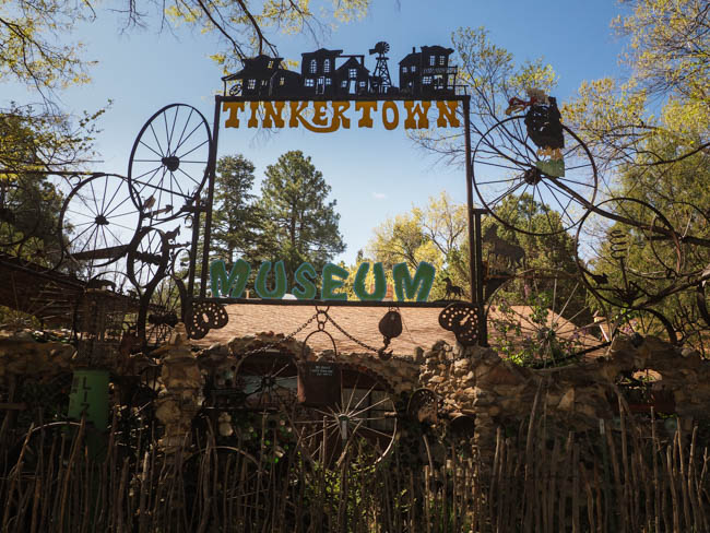 The Turquoise Trail to Tinkertown