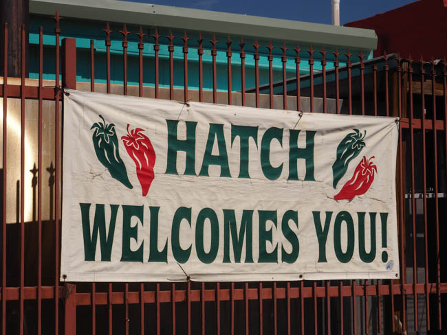 Hatch, NM: Home to Giants and Green Chiles and Giant Green Chiles