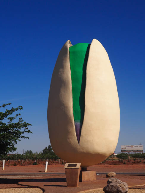Spotted on the Roadside: The World's Largest Pistachio