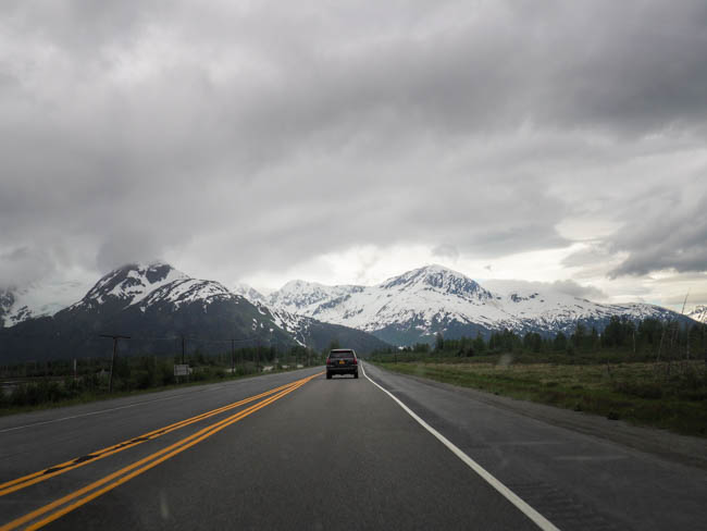Driving the Seward Highway