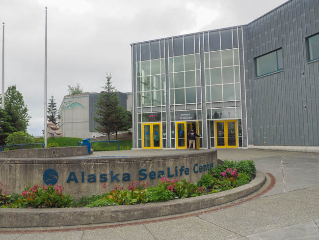 The Alaska SeaLife Center in Seward
