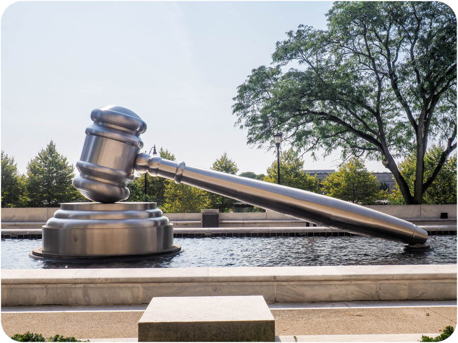 Spotted on the Roadside: The World's Largest Gavel in Columbus, OH