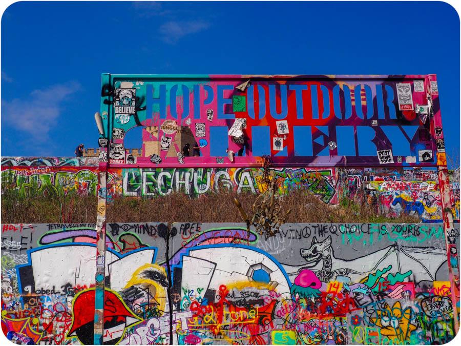 HOPE Outdoor Gallery in Austin, TX